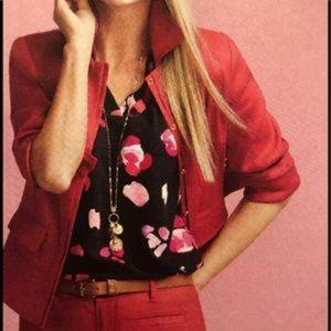 Cabi Red Valentine Blazer size M #5472